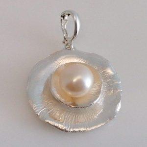 Schmuck-Anhänger 925 Silber mit Perle